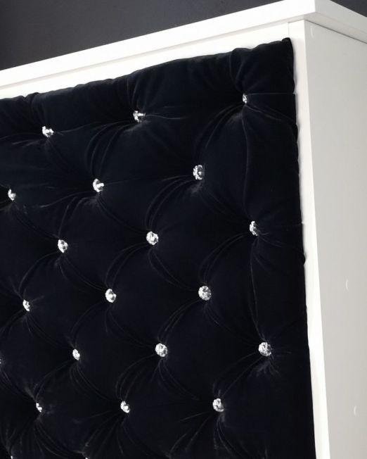 Recepcja pikowana Czarny panel (18)